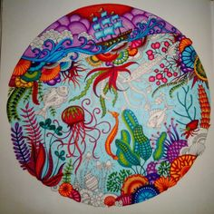 /SneakPeak2 :) #coloriage #coloring #colouring #coloriagepouradulte #adultcoloring #adultcolouring #oceanperdu #lostocean #johannabasford