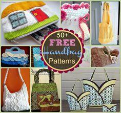 50 Free Handbag Patterns at sewlicioushomedecor.com