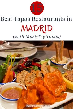 15 Best Tapas Restaurants in Madrid [with Must-Try Tapas] | Travellector #travel #Madrid #traveltips #Spain