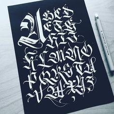Alphabet practice. Mais
