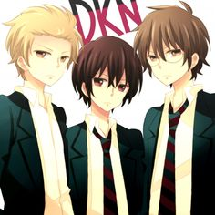 Yoshitake, Tadakuni and Hidenori. ~Daily Lives of Highschool Boys