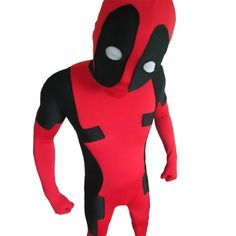 Deadpool Ganzköper Lycra Spandex Zentai-Anzug-Strampler Halloween Cosplay Kostüme (Large, Rot) Fashion Season http://www.amazon.de/dp/B00ESQSTTG/ref=cm_sw_r_pi_dp_S2e.tb0TG3FNN
