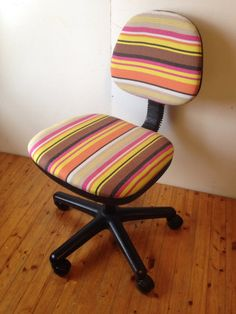 DIY:椅子の張替え