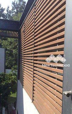NewTechWood wood screen product