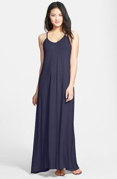 2d0919dab9f Free shipping and returns on Loveappella Maxi Dress (Regular  amp  Petite)  at Nordstrom