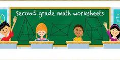 2nd grade worksheets to build academic skills First Grade Math Worksheets, Kindergarten Worksheets, Fourth Grade Math, Second Grade Math, Early Math, Preschool Math, Math For Kids, Math Skills, Writing Skills