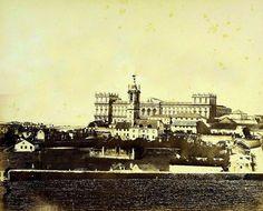 Lisboa de Antigamente: Palácio Naciol da Ajuda: o palácio inacabado