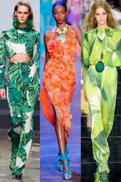 Tropical Fashion - 2011 Tropical Fashion Trend - ELLE