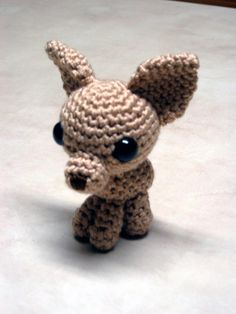 Crochet Chihuahua. Chihuahua dog art portraits, photographs, information and just plain fun. Also see how artist Kline draws his dog art from only words at drawDOGS.com #drawDOGS http://drawdogs.com/product/dog-art/chihuahua-dog-portrait-by-stephen-kline/