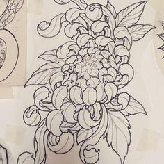 crisantemo tattoo - Buscar con Google
