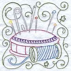 Buy Individual Embroidery Designs from the set Sewing Blocks