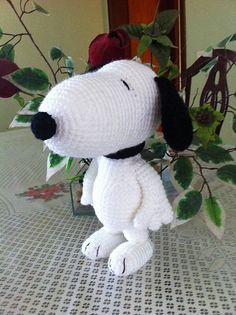PDF CROCHET PATTERN Snoopy Inspired by AmiAmaLiliumDesigns on Etsy