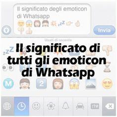 Il significato degli emoticon e simboli di Whatsapp | Il tuo cruciverba