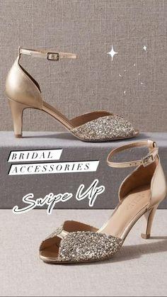 Bridal Outfits, Bridal Shoes, Bridal Accessories, Bridal Style, Stuart Weitzman, Sparkle, Sandals, Heels, Fashion
