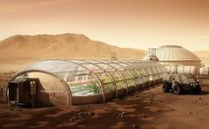 Martian Agri-test (Clark Crater, early Corporate Era).