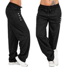 Women Long Pants Trousers Women Autumn Winter Wide Leg Sports Loose Casual  Pants Spring Summer sweatpants b47fc2cb476