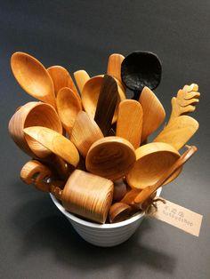 Handcarved Wooden spoons by Notbadshop 不差店手工木食器 台灣