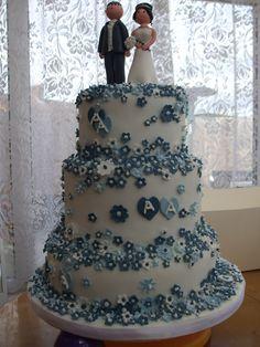 my niece's wedding cake