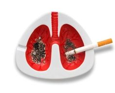 This is what every ash tray should look like.  Smoking is gross.