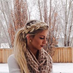 Dutch Braid Pony Combo