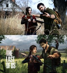 """The Last of Us"" Cosplay. It's truly amazing what people can do when they cosplay. I have so much respect for everyone single cosplayer out there."