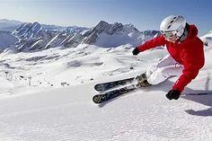 Карвинг - стиль катания на горных лыжах. безопасность, гора, шерегеш, горны...