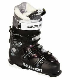 5e5c2154c4 Bottes de ski alpin Chausson Custom Fit Comfort Coque et tige en  bi-matériau PP Technologie Ride and Hike pour faciliter la marche 2 boucles.