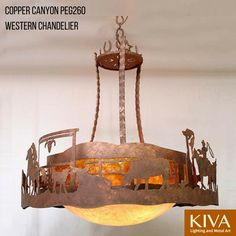 Rustic lighting and fans cabin chandelier cabin and chandeliers copper canyon western chandelier rusticlighting ceilinglighting mozeypictures Gallery