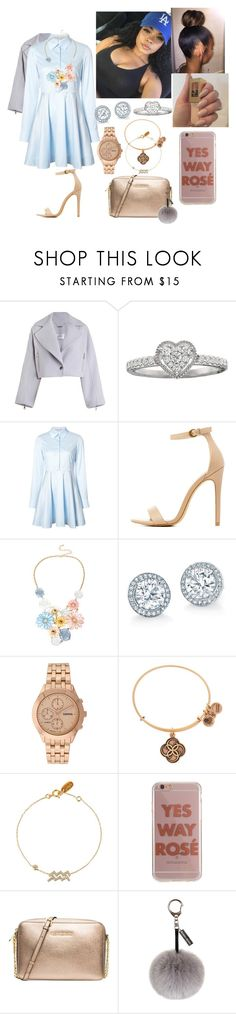 """""""Church💒💟"""" by madisonw525 ❤ liked on Polyvore featuring Zimmermann, STELLA McCARTNEY, Charlotte Russe, Mixit, Geneva, Alex and Ani, Agent 18, MICHAEL Michael Kors and Helen Moore"""