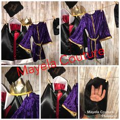 Designed and made by Mayela Couture. Evil Queen Wicked Queen from Snow White costume.
