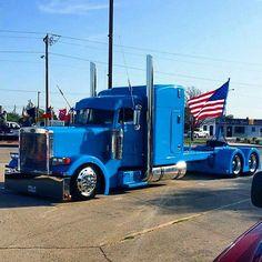 All diesel trucks here, no pictures of jeeps. Show Trucks, Big Rig Trucks, Old Trucks, Peterbilt 379, Peterbilt Trucks, Custom Big Rigs, Custom Trucks, 6x6 Truck, Train Truck