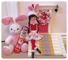 Elf on the Shelf - Happy Easter!!