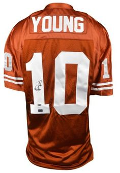 623fe328118 Vince Young Autographed Jersey - Texas Longhorns - JSA & AAA. Vince  Young doesn