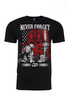 Never Forget Soldier Diesel Trucks, Forget, Clothing, Mens Tops, T Shirt, Fashion, Outfits, Supreme T Shirt, Moda
