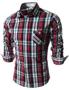 "Men's ""Austin"" Plaid Dress Shirt – Tattee Boy Clothes"