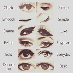 how to apply liquid eyeliner step by step - Google Search: