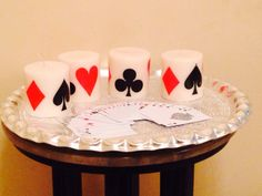 Flash Card Candles Dimensions: Diameter-3 inch, Height - 3 inch