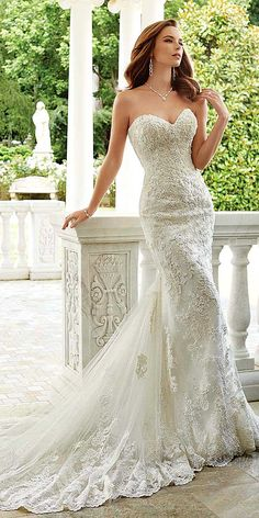 Utterly Gorgeous New Bridal Gowns By Sophia Tolli ❤ See more…
