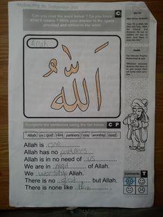 Free Islamic Studies Text Book for Kids | My Faith Islam Grade 1 | The ...