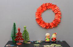 Decorando sua casa para o Natal: aprenda a fazer uma guirlanda de papel!