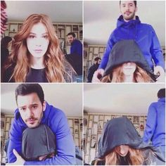 """""""Good Morning KA and ElBar Family ❤️ Happy Morning with these two adorbs 💞 Stay Positive and Trust the outcome of what you want always 💕 Rise and Shine ✨ Turkish Men, Turkish Fashion, Turkish Actors, Beautiful Girl Makeup, Movies And Series, Tv Series, Arab Wedding, The Best Series Ever, Elcin Sangu"""
