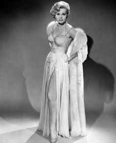 Zsa Zsa Gabor's Stunning Vintage Photos - Zsa Zsa Gabor Poses for the Camera from #InStyle