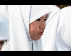 A young Brunei girl on Brunei National Day. Brunei National Day is celebrated on 23 February. This holiday marks full independence from the United Kingdom in 1984.