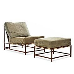 Inheritance Chair & Ottoman (USA)