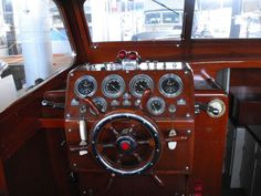 1949 Chris Craft Double Helm