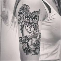 Image result for tattoo coruja