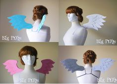 Pegasus Angel My Little Pony Halloween Costume Wings by blupixie