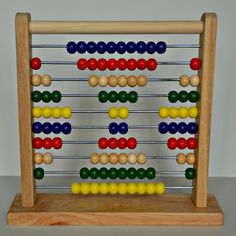 Back to Basics: Using an Abacus to Teach Patterns. One item we use in our home school a lot is an abacus: We've been using it to practice counting and skip counting since our children were toddlers.  Just recently, we also began using the abacus for math pattern practice.