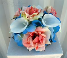 cupcake boxes in turquoise and coral - Google Search