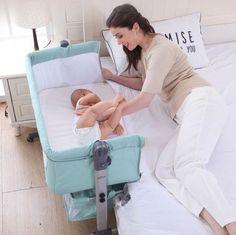 Baby Playroom, Baby Room, Baby Bassinet, Baby Cribs, Baby Bedside Sleeper, Portable Crib, Sleep Quality, Good Sleep, Nursery